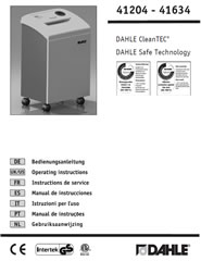 41614 CleanTEC User Guide