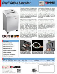 41614 CleanTEC Product Sheet
