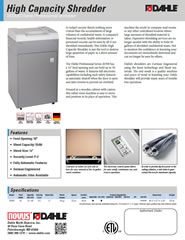 20390 High Capacity Product Sheet