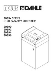 20390 High Capacity User Guide