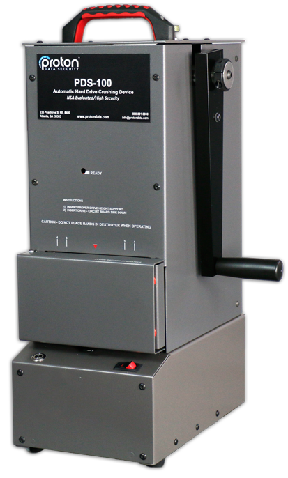 PDS - 100 HDD Crusher